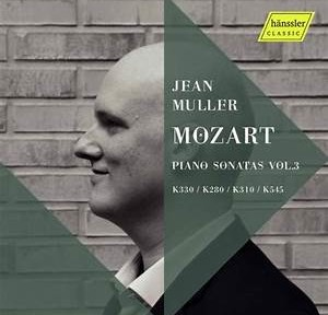 mozart sonatas jean muller piano vol 3 hanssler critique review classiquenews fev 2021