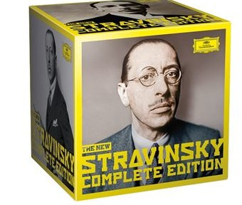 Stravinsky-Complete-Works-Edition-Limitee-Coffret classiquenews review critique