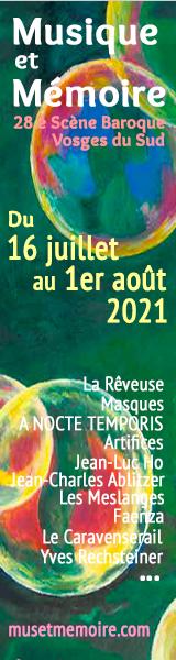 MUSIQUE ET MEMOIRE 2021