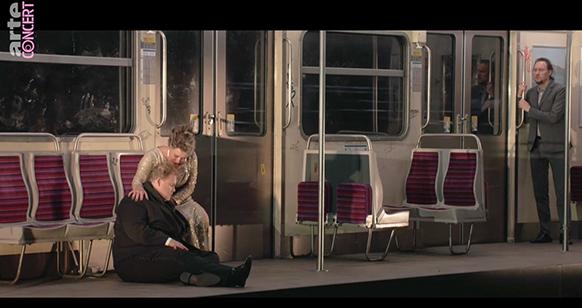 Tristan und isolde aix en provence 2021 Rattle Stemme Skelton critique opera classiquenews dans le metro